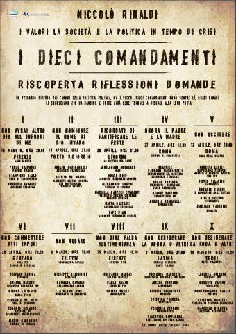 i dieci comandamenti p