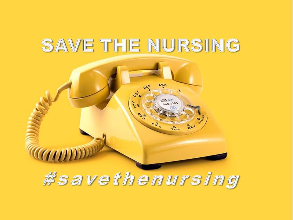 SAVE THE NURSING II